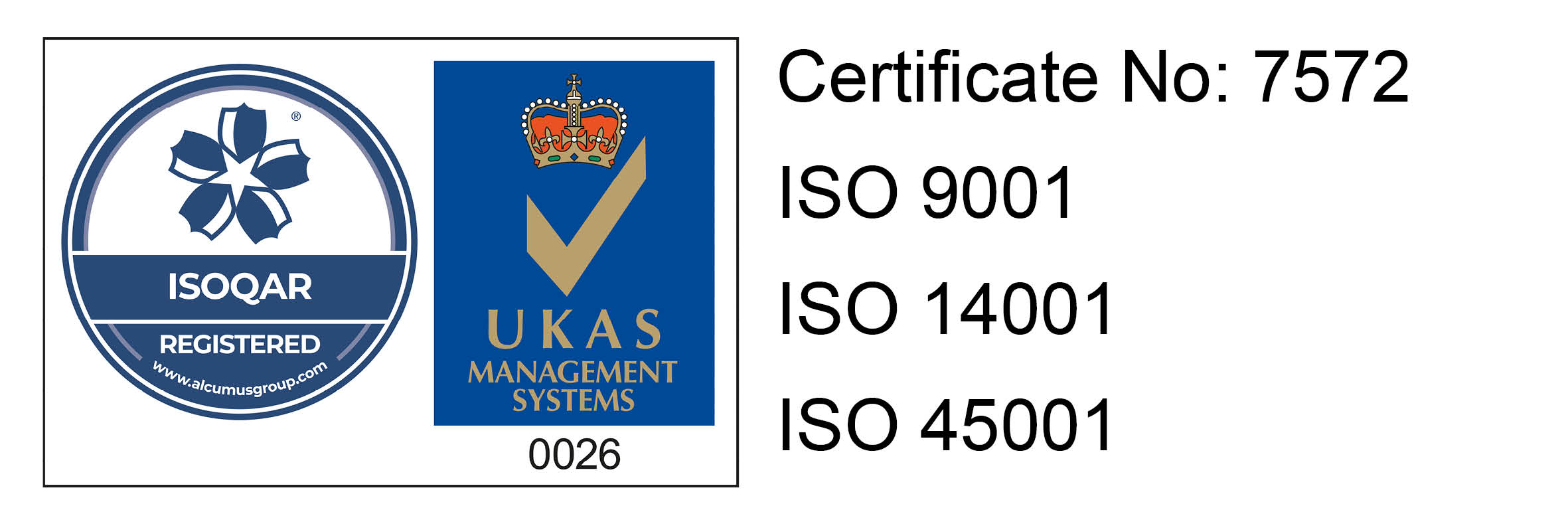 ISOQAR with Gen2 Cert Info